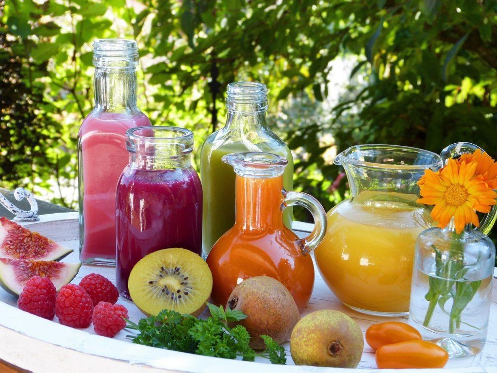 smoothies, juice, vegetable juice